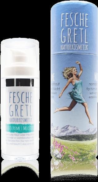 Fesche Gretl Naturkosmetik Gesichtscreme für normale Haut oder Mischhaut