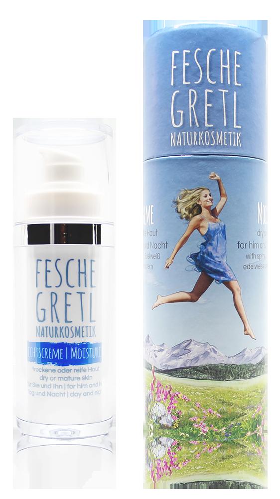 Fesche Gretl Naturkosmetik Gesichtscreme für trockene und reife Haut